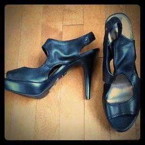 Black Vera Wang Heels